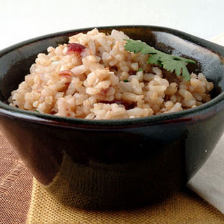Pecan White and Brown Rice Pilaf Recipe