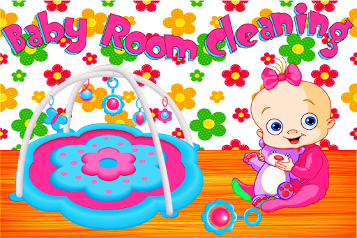 Baby Rooms Cleaning Game