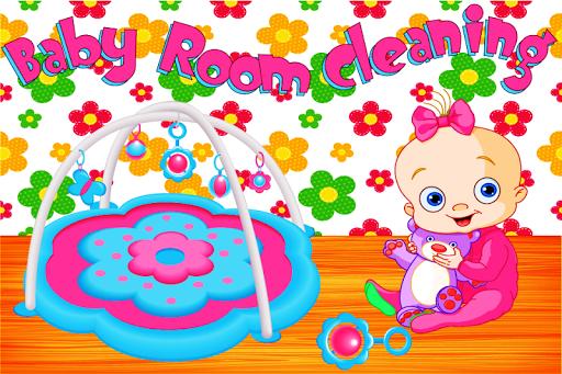 婴儿房清洁游戏