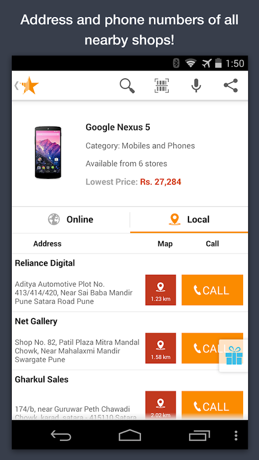 online shopping apps compare prices price scanner to