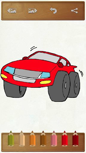 Cars Coloring Mania