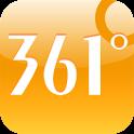 361°无处不热爱 logo