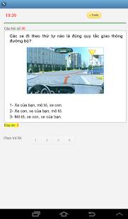 Luyện thi giấy phép lái xe- screenshot thumbnail