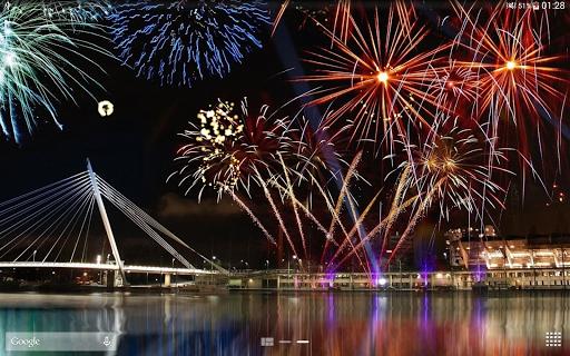 Fireworks Live Wallpaper 2018 1.2.1 screenshots 15