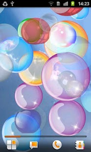 Bubble Live Wallpaper - screenshot thumbnail