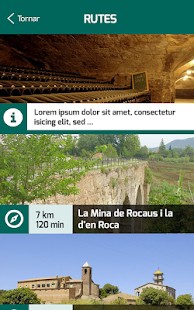 The Sèquia's routes- screenshot thumbnail
