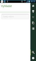 Screenshot of SK & CZ Android aplikacie