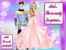 Screenshot of Princess Salon Game
