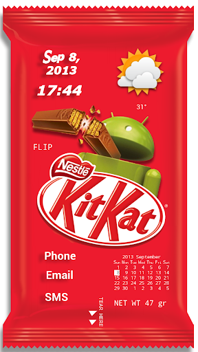 KitKat Theme for ssLauncher OR