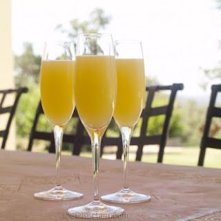 Non-Alcoholic Mimosas.