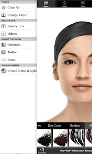 Mary Kay® Virtual Makeover Screenshot