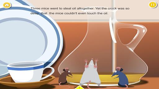 Mice Stealing Oil