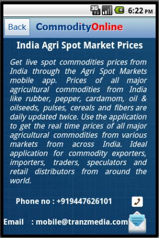 Commodity Spot Prices In India- screenshot