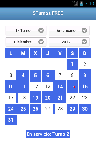 5Turnos FREE