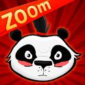 Pandas vs Ninjas Zoom logo