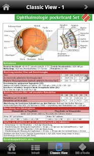 Ophthalmologie a-pocketcards - screenshot thumbnail