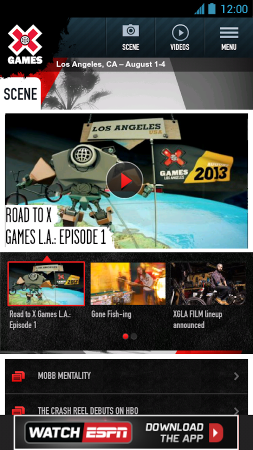 ESPN X Games - screenshot