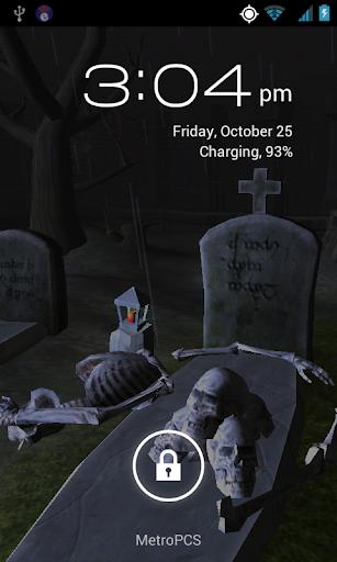 Bone Cemetery Live Wallpaper