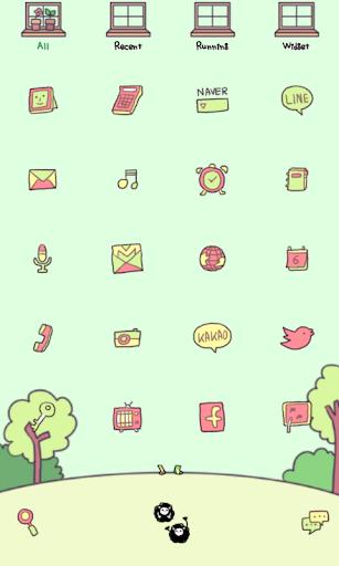 玩免費個人化APP|下載ミニハウスドドルランチャのテーマ app不用錢|硬是要APP