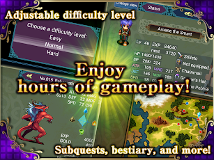 RPG Fortuna Magus - KEMCO screenshot for Android
