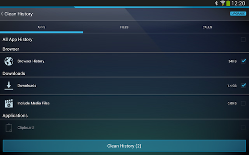AVG Cleaner & Battery booster - screenshot thumbnail