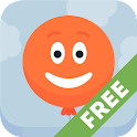 Pop balloons for kids Free icon