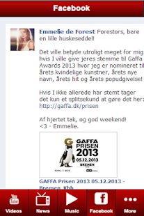 Emmelie de Forest: Videos - screenshot thumbnail