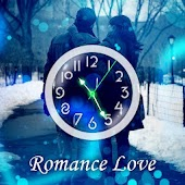 Love Theme Clock Romantic LWP