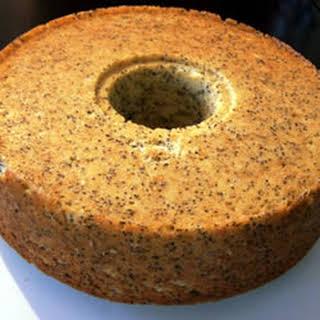 Ukrainian Sour Cream Poppy Seed Cake.