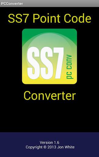 SS7 Point Code Converter