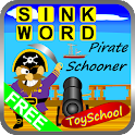 Sink Word Pirate Schooner icon