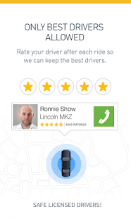 Gett - Black car & taxi app - screenshot thumbnail