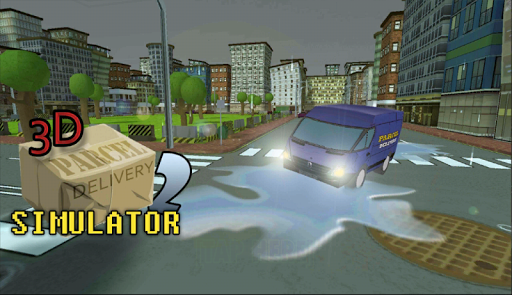 3D Parcel Delivery Simulator 2
