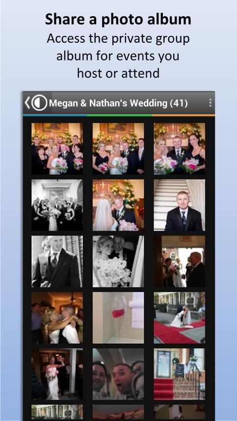 CapsuleCam - Wedding Photo App - screenshot