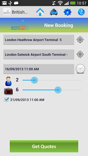 British Airport Transfer Cars