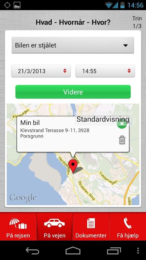 Tryg på rejse - screenshot
