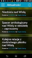 Screenshot of Ptaki Wisły Warszawskiej