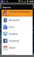 Screenshot of AutoResizeWallpaper
