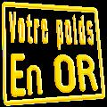 Download Votre Poids en or (Quizz) APK for Android Kitkat
