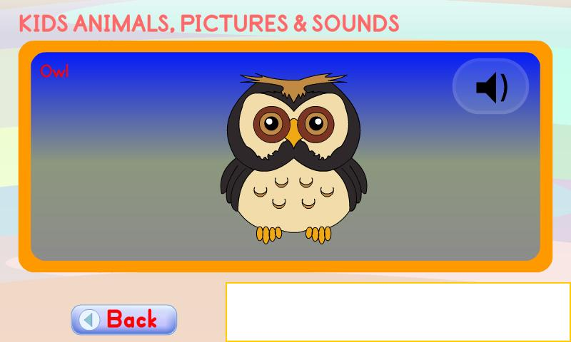 Kids Animals Pictures & Sounds- screenshot