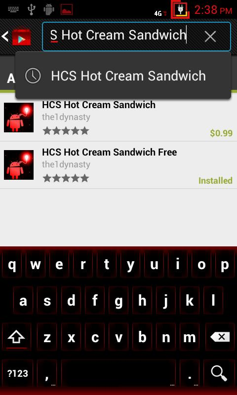 HCS Free CM9/CM10 Theme - screenshot
