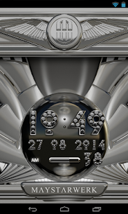 Digi Clock Widget Silver Diamond v2.70 [Paid] APK 3