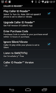Caller ID Reader - Speak Calls- screenshot thumbnail