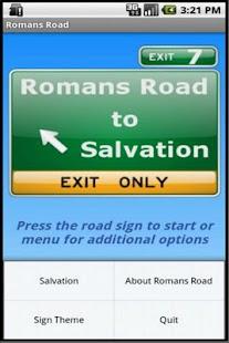 Romans Road to Salvation- screenshot thumbnail