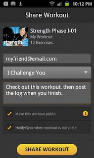 FitnessBuilder - screenshot thumbnail