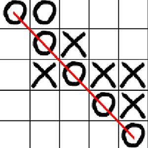 五子棋兩 策略 LOGO-阿達玩APP