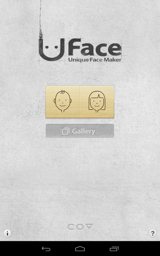 Uface - Unique Face Maker - screenshot