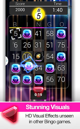 Bingo Gem Rush Free Bingo Game screenshot 17
