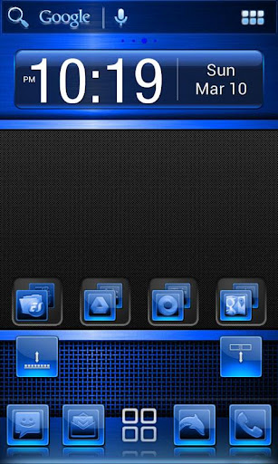 Blue Multi Theme
