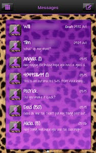 Complete Cheetah Purple Theme screenshot 2